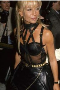 Donatella Versace, años 90 Foto:Vogue