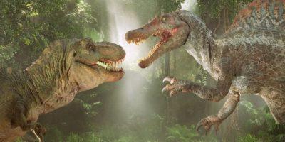 En Jurassic Park 3 se enfrentó al Spinosaurus Foto:Universal
