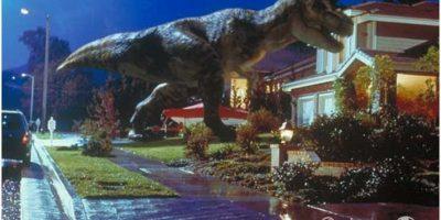 En Jurassic Park 2, el T-Rex conoció la ciudad Foto:Universal