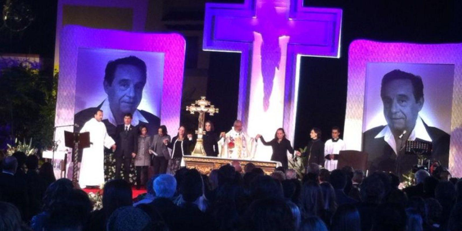 La familia Televisa dice adiós a Chespirito Foto:Facebook/Televisatelevisionmx