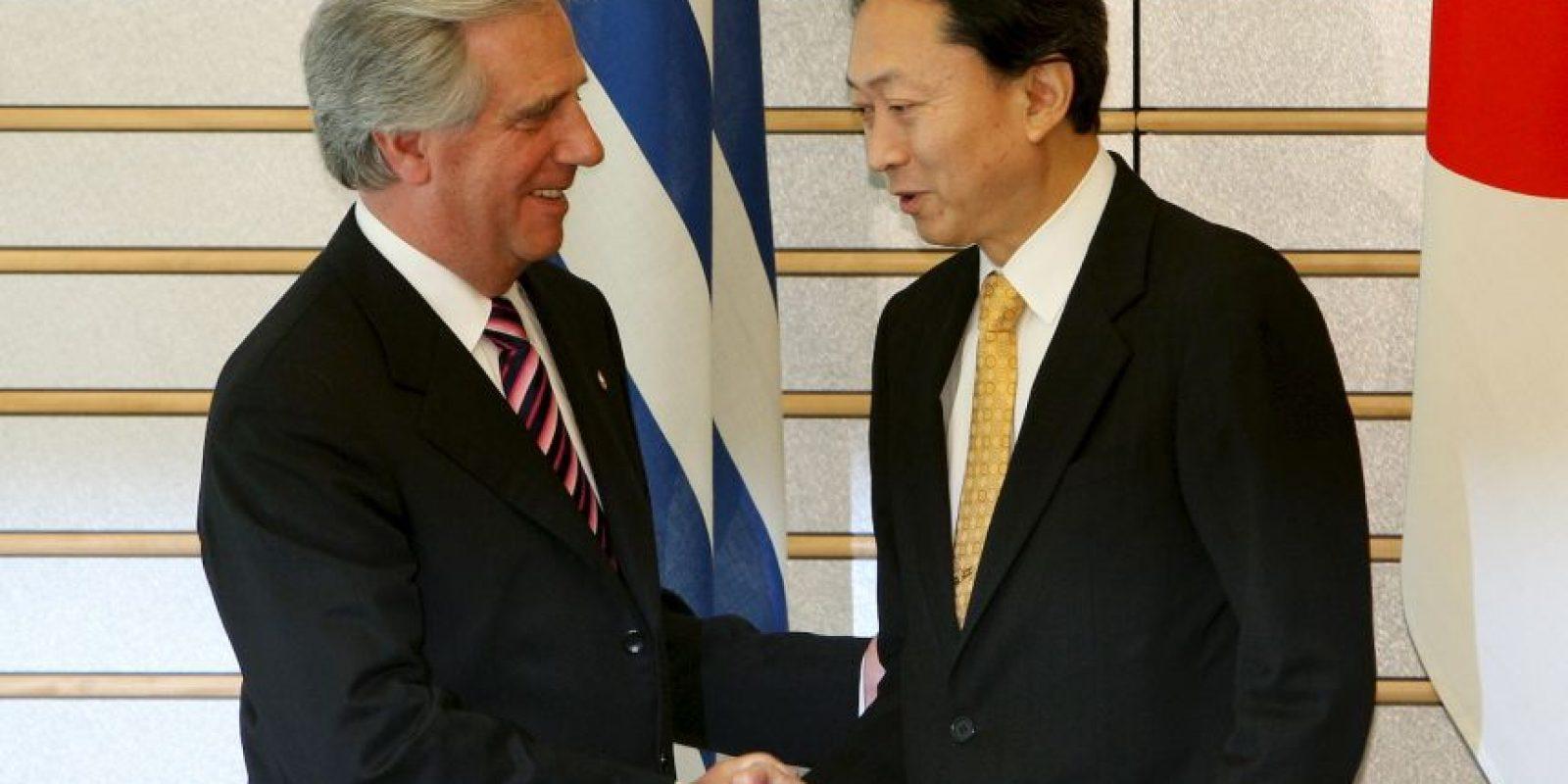 Fue presidente de Uruguay entre 2005 y 2010 Foto:Getty Images