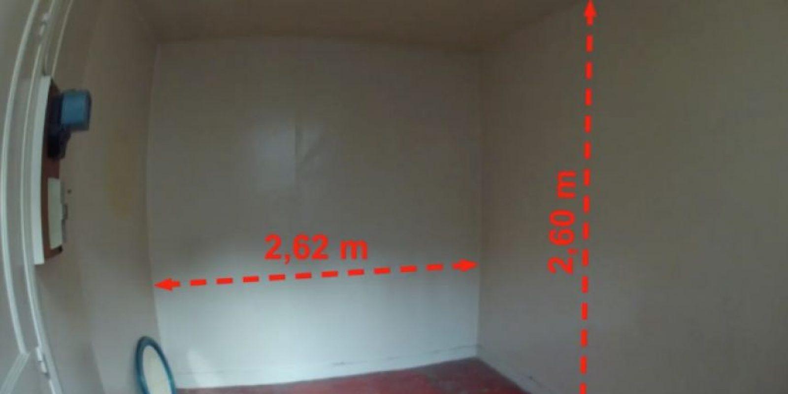 Este es el espacio del departamento vacio Foto:Vimeo/Kitoko