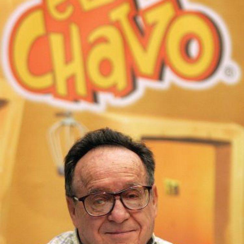 Roberto Gómez Bolaños Foto:AFP