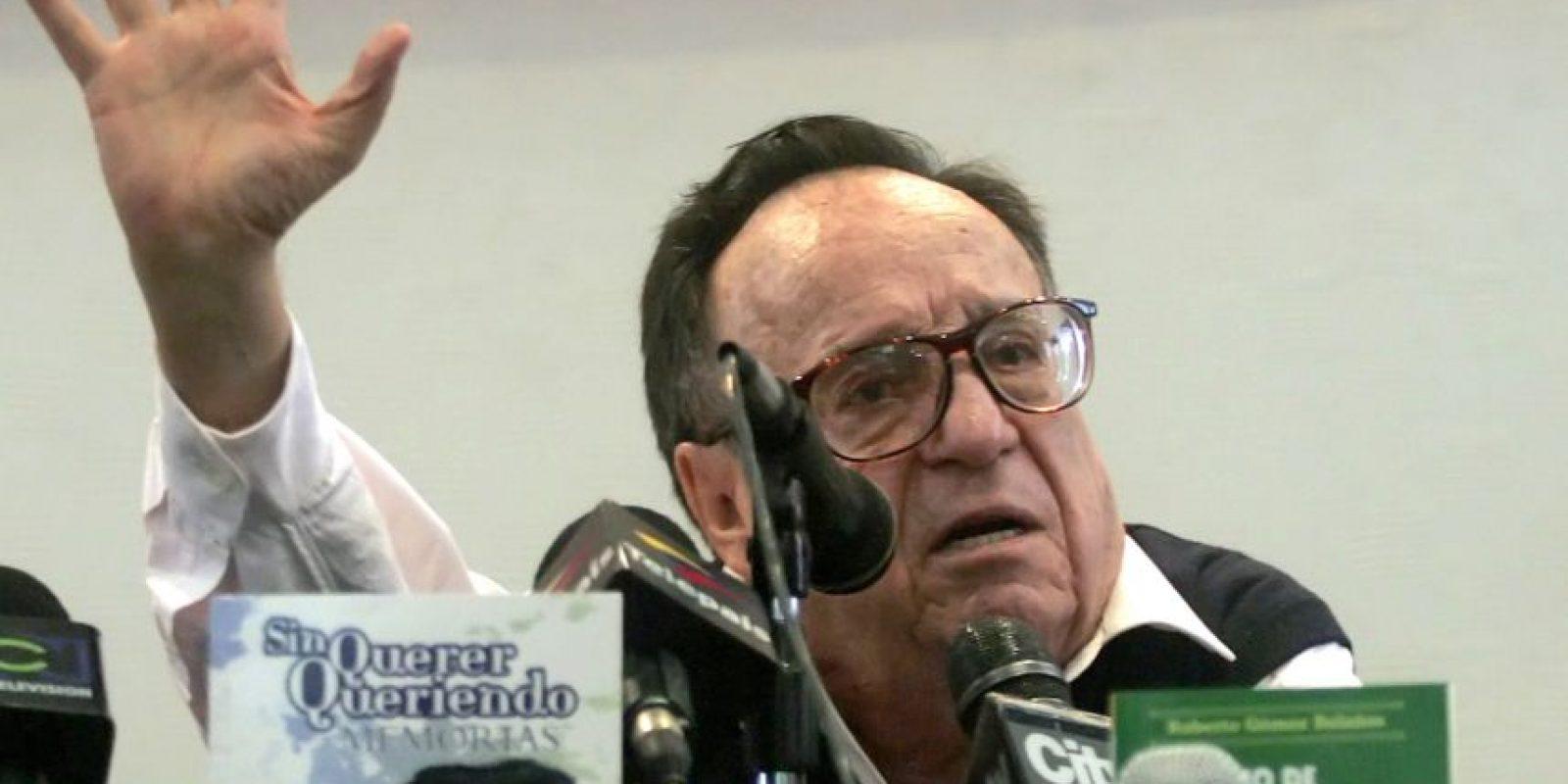Los restos del comediante llegaron el sábado a la Ciudad de México Foto:AFP
