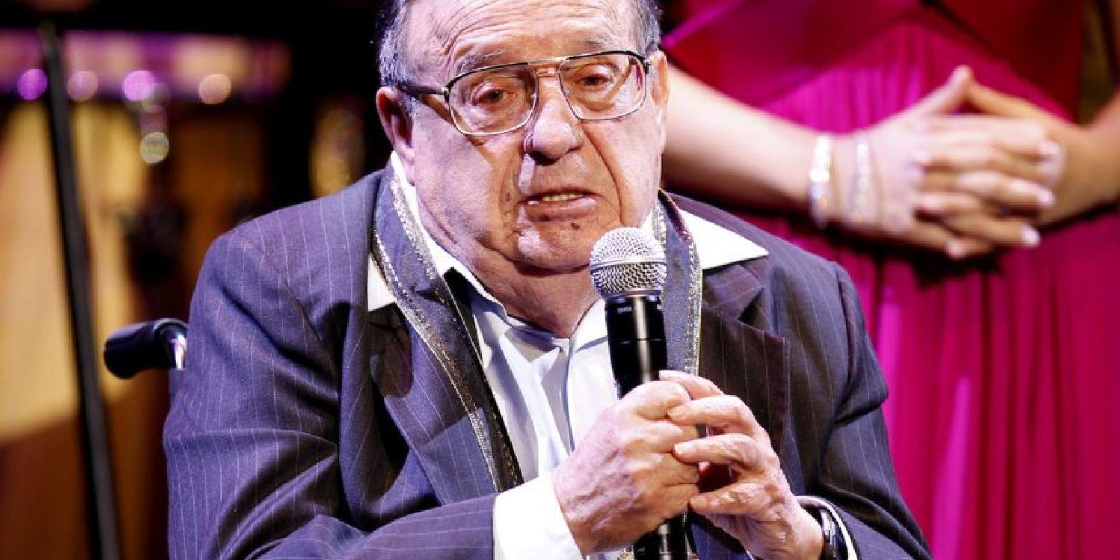 Imágenes del homenaje que le rindió Televisa el 29 de febrero de 2012 Foto:AP