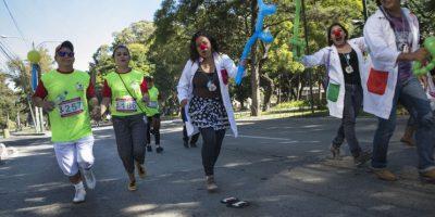 """Una """"carrera positiva"""" para ayudar a los pacientes con VIH/sida"""
