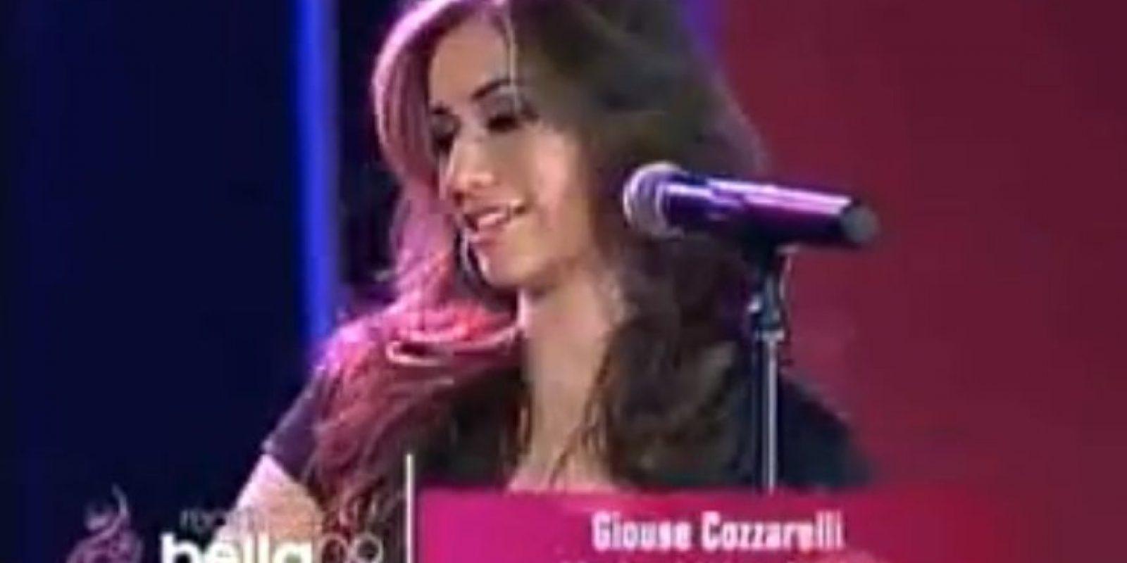 """Giouzué Cozzarelli es interrogada al preguntársele por quién Confucio. """"Fue quien inventó la Confusión"""" Foto:Youtube"""