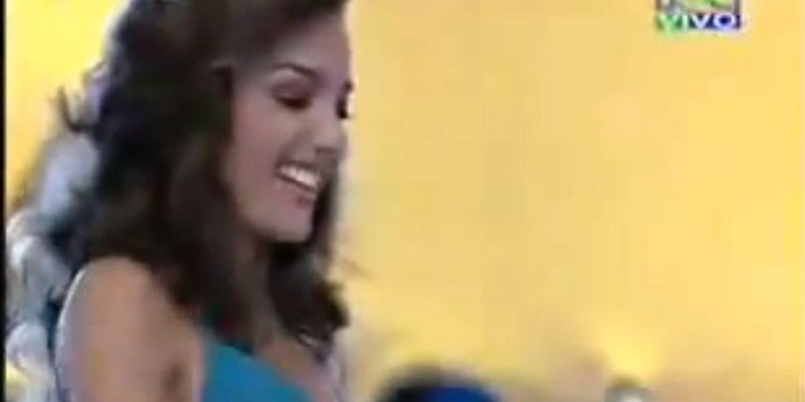 """""""El hombre se complementa a la mujer también siendo hombre con hombre y mujer con mujer del mismo modo y del sentido contrario"""" Miss Antioquia (Miss Colombia, 2008) Foto:RCN"""
