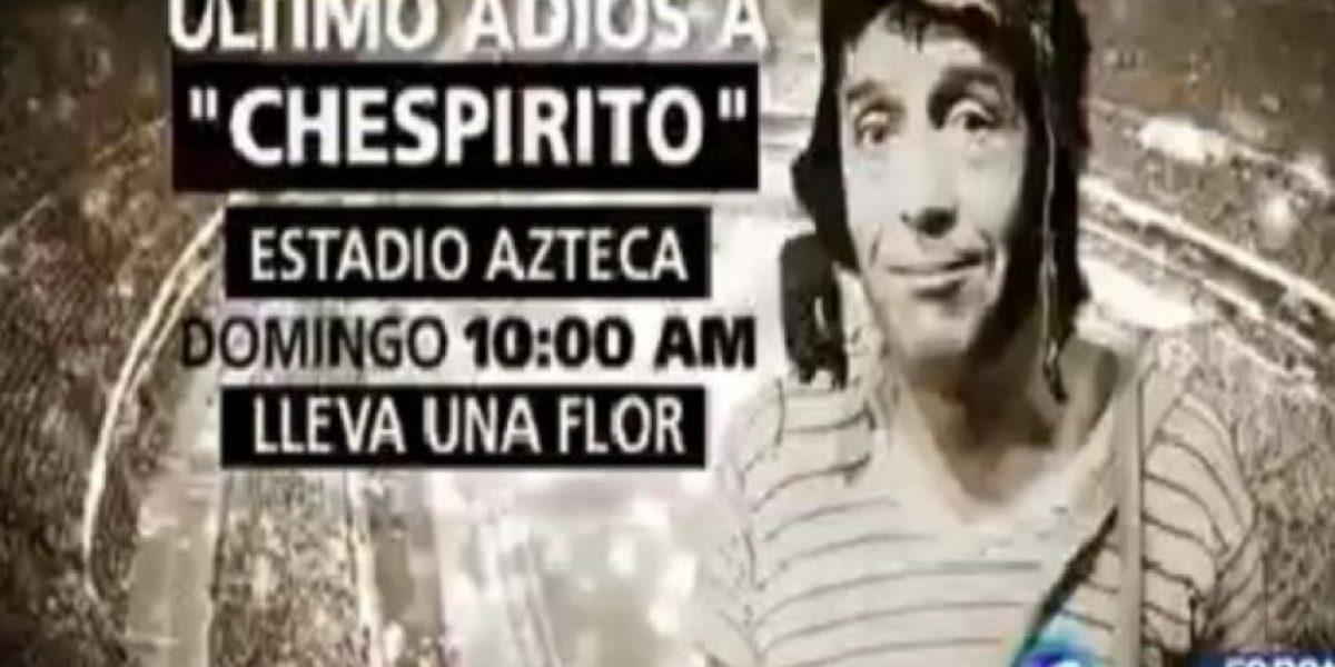 Homenajes en TV y en estadios de fútbol: México ya despide a