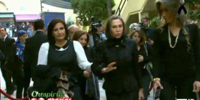 Aquí, Florinda Meza, su viuda. Foto:Twitter/TelevisaTvMx