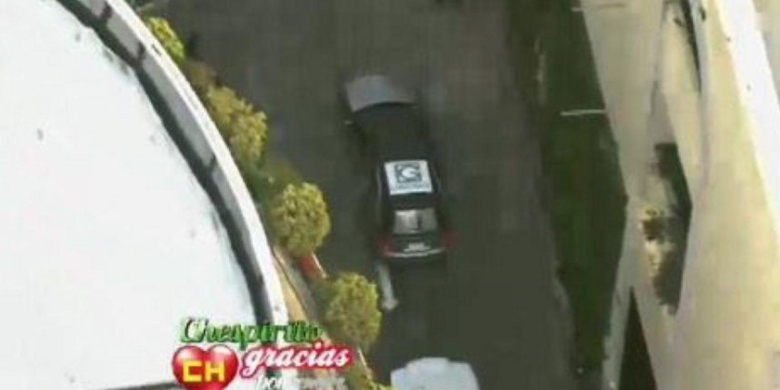 """El auto donde estaba su féretro llegó a la """"Plaza de las Estrellas"""", ubicada en Televisa San Ángel (México DF) Foto:Twitter/TelevisaTvMx"""
