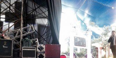 Este es el escenario. Foto:Twitter/TelevisaTvMx