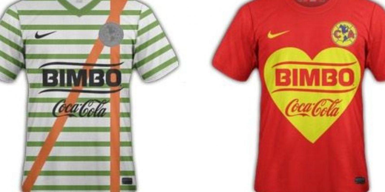 En redes sociales rediseñaron la camiseta del equipo en homenaje a Chespirito Foto:Twitter