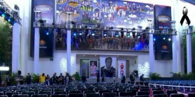 El homenaje se realizó el sábado 29 de noviembre Foto:Twitter/TelevisaTvMx