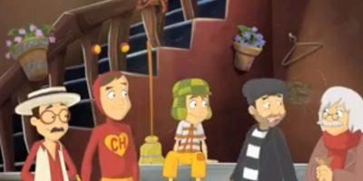 """""""El Chómpiras"""", """"Chaparrón Bonaparte"""", """"El Chavo""""y """"El Chapulín Colorado"""" Foto:Anima Estudios"""