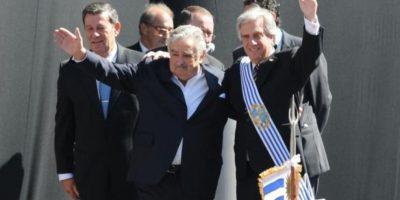 Con el gobierno de Vázquez la coalición socialdemócrata uruguaya gobierna por 15 años en el país sudamericano. Foto:Twitter