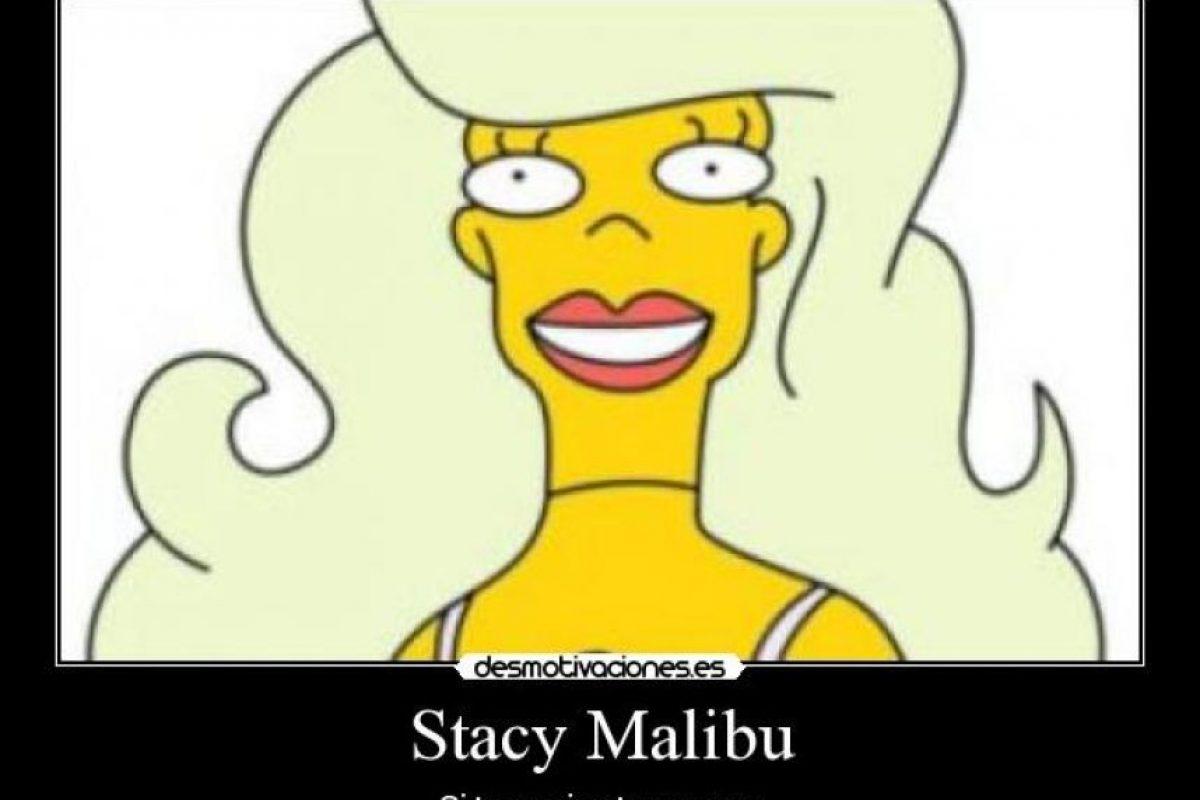 Stacy Malibú no es la única que nos ha dado frases tontas para la posteridad Foto:Desmotivaciones