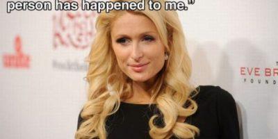 """""""Todo lo malo que le podía suceder a alguien me pasó a mí"""" Paris Hilton Foto:Guff"""