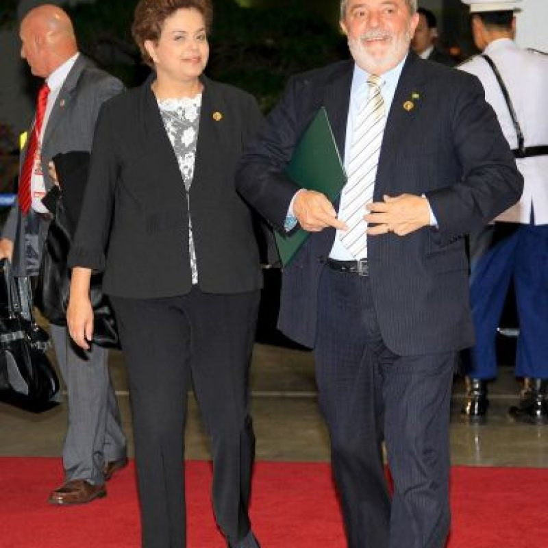 8. Dilma Rousseff Foto:Getty Images