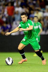 En la 2013-2014, Rubén hizo apenas 10 goles en 24 partidos, dos en la UEFA Europa League y una anotación en la Copa del Rey. Foto:Getty Images