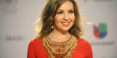 Es una cantante, compositora, actriz, empresaria y modelo mexicana Foto:Getty Images