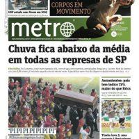 Brasil, Sao Paulo, Metro Foto:Metro