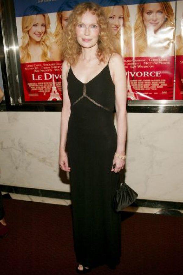 """Mia Farrow, amante, musa y madre de los hijos de Woody Allen marcó una gran etapa en la vida del director. Apreció en películas como """"La comedia sexual de una noche de verano"""" (1982) y """"La Rosa púrpura del Cairo"""" (1985) Foto:Getty Images"""