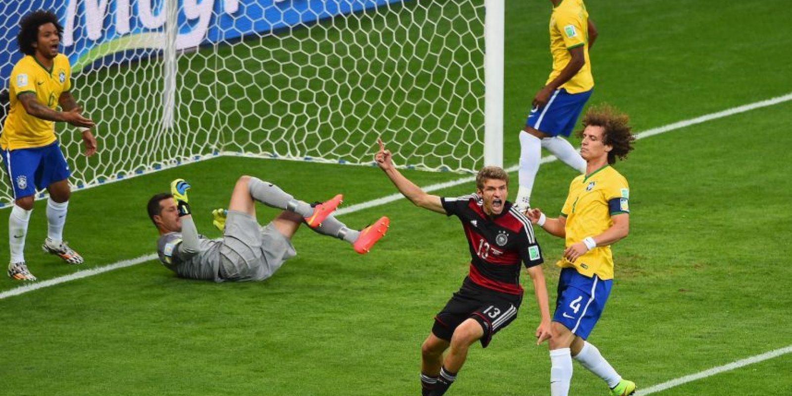 2. Brasil es humillado en su Mundial Foto:Getty