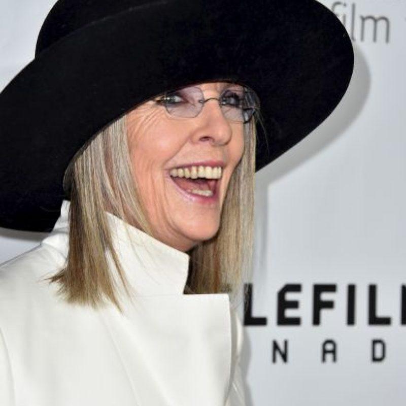 """Diane Keaton fue musa del director en varias películas, incluso fue pareja de Woody Allen, pero su actuación más recordada es en """"Annie Hall"""" (1977) Foto:Getty Images"""