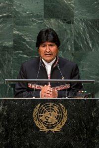 El ex líder cocalero asumió la presidencia en 2006. Hace unos meses fue electo para un tercer periodo, el cual concluye en 2020. Foto:Getty Images