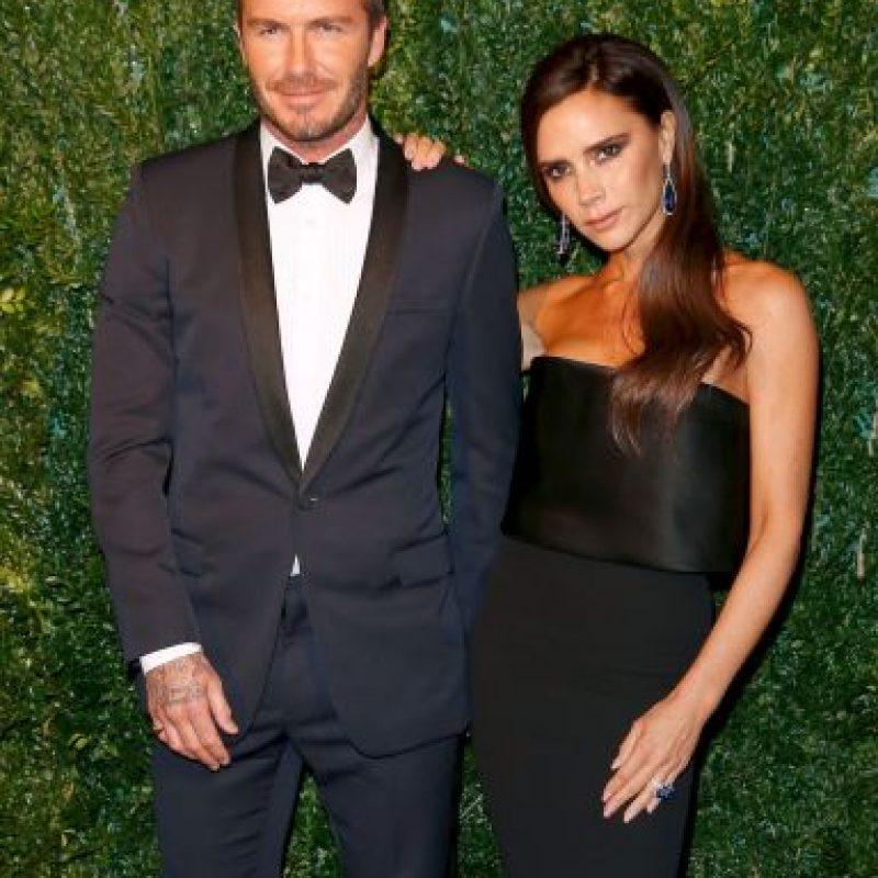 Victoria y David Beckham se casaron en 1999. Tienen cuatro hijos. Foto:Getty Images