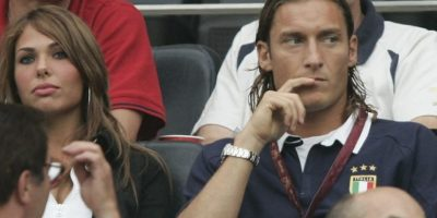 Ilary Blasi y Francesco Totti se casaron en 2005. Foto: Getty Images