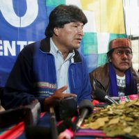 2. Evo Morales Foto:Getty Images