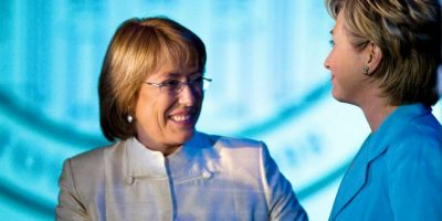 3. Michelle Bachelet Foto:Getty Images