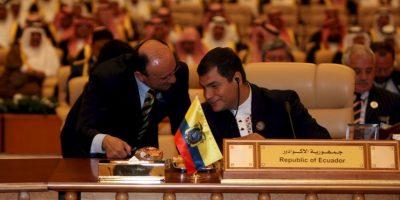 5. Rafael Correa Foto:Getty Images