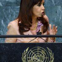7. Cristina Fernández de Kirchnner Foto:Getty Images