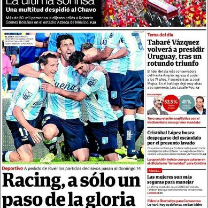 Argentina, El Clarín Foto:El Clarín