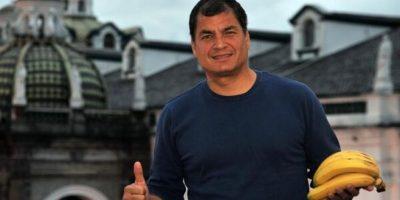 Correa llegó al poder en 2007. Fue ratificado en 2009 y en 2013. Foto:Twitter: @MashiRafael