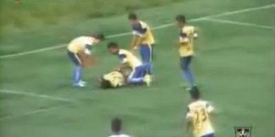 7. La muerte de un jugador hindú en pleno festejo Foto:YouTube