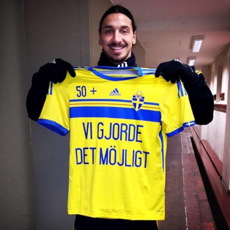 Es el referente de la Selección de Suecia Foto:Instagram: @iamzlatanibrahimovic