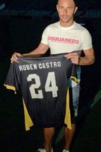 En 2011 lograron el ascenso a Primera división. Foto:twitter.com/RubenCastro_24