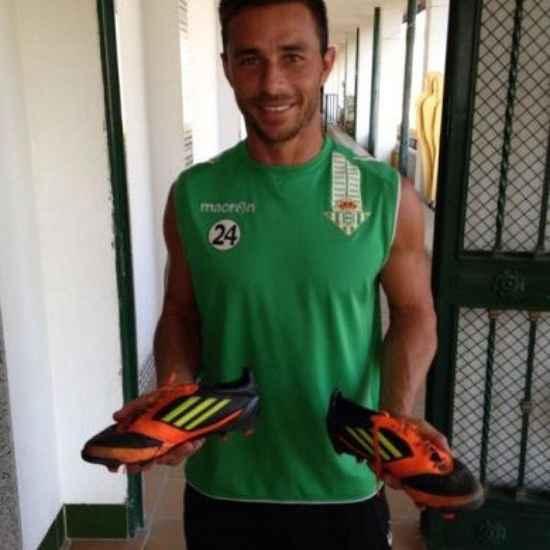 Ha militado en el Real Betis desde 2010. Foto:twitter.com/RubenCastro_24