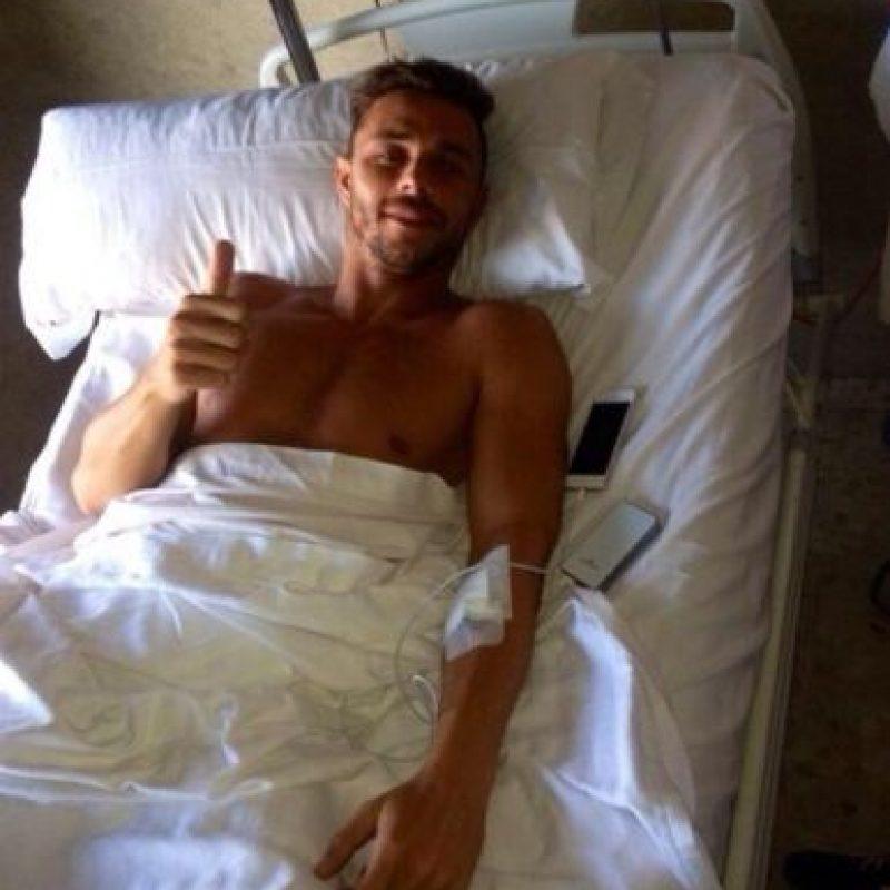 Ahora está en Segunda división y no se ha salvado de las lesiones. Foto:twitter.com/RubenCastro_24