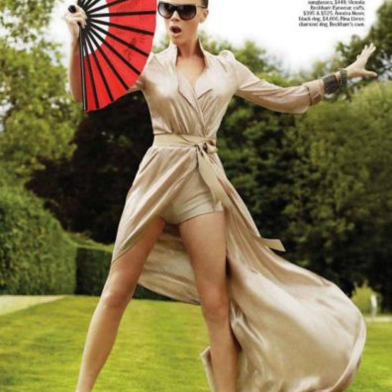 Victoria Beckham para Marie Claire. Foto:Marie Claire