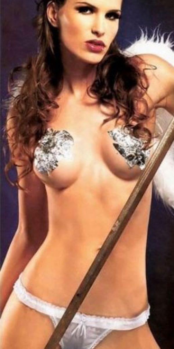 Carolina Molinari para Interviú. Foto:Interviú