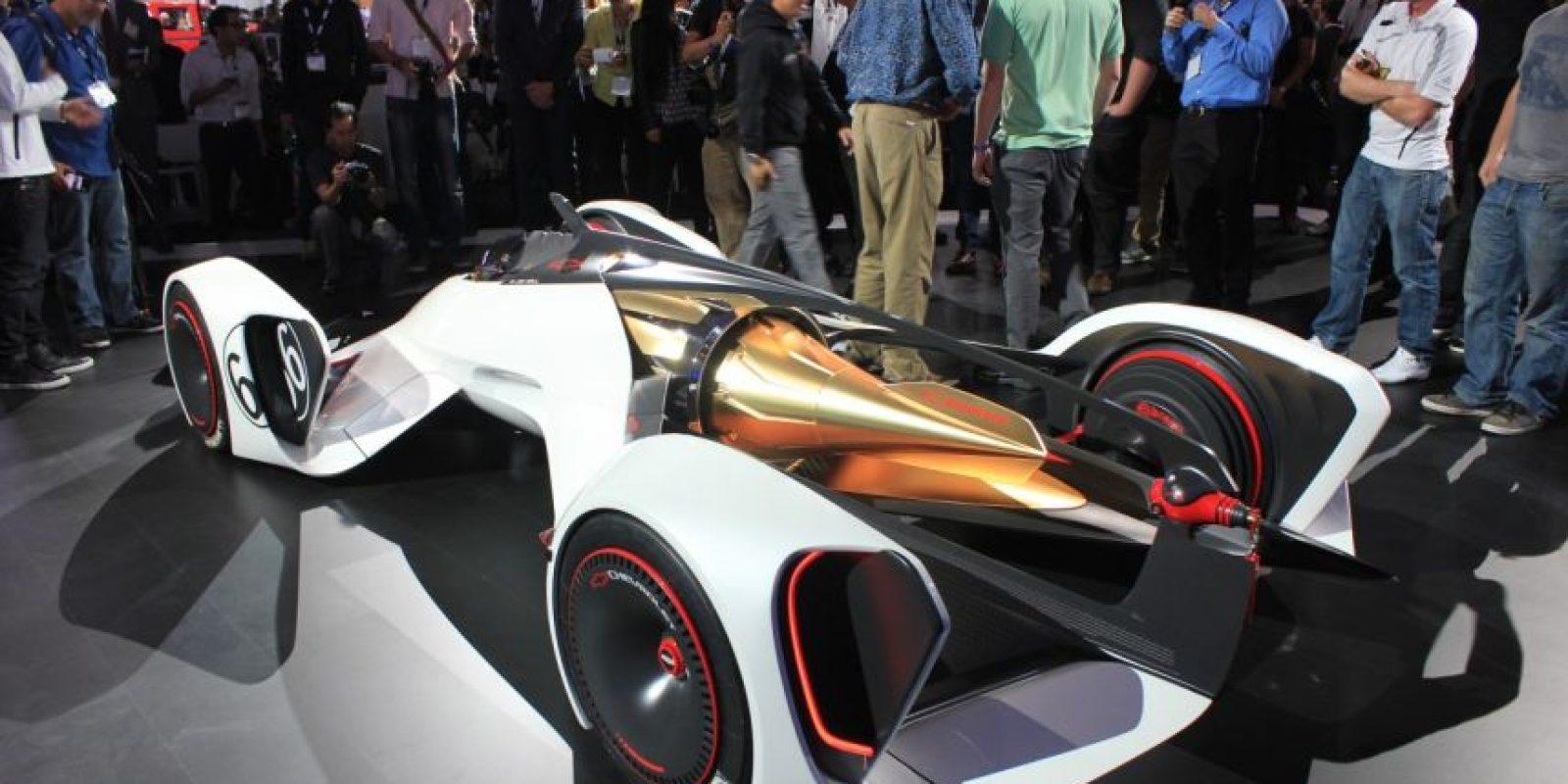 El Chaparral 2X Vision pertenece a Chevrolet. Foto:autoblog.com