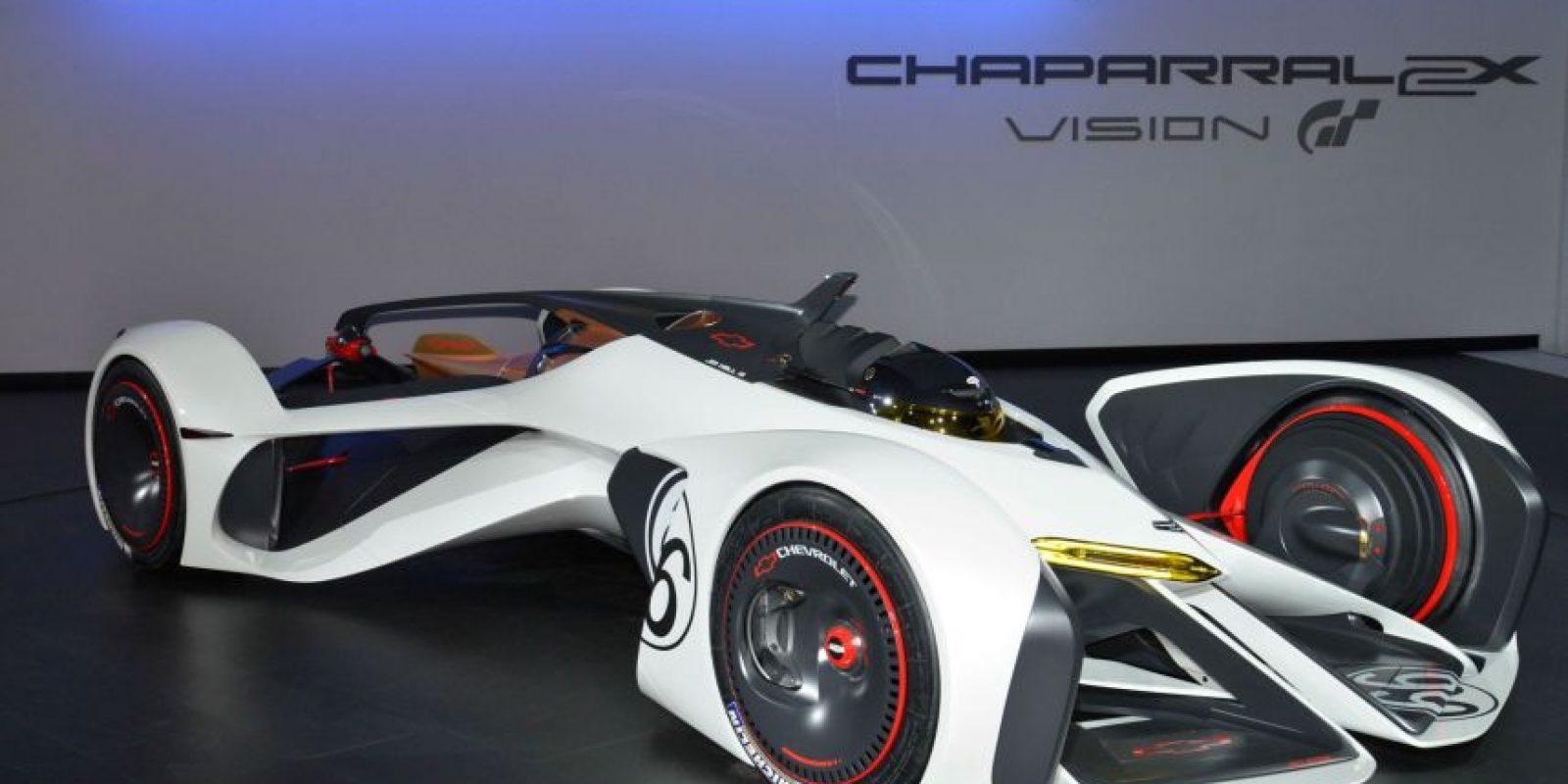 El Chaparral 2X Vision pertenece a Chevrolet. Foto:automobilemag.com