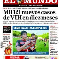 El Salvador, El Mundo Foto:El Mundo