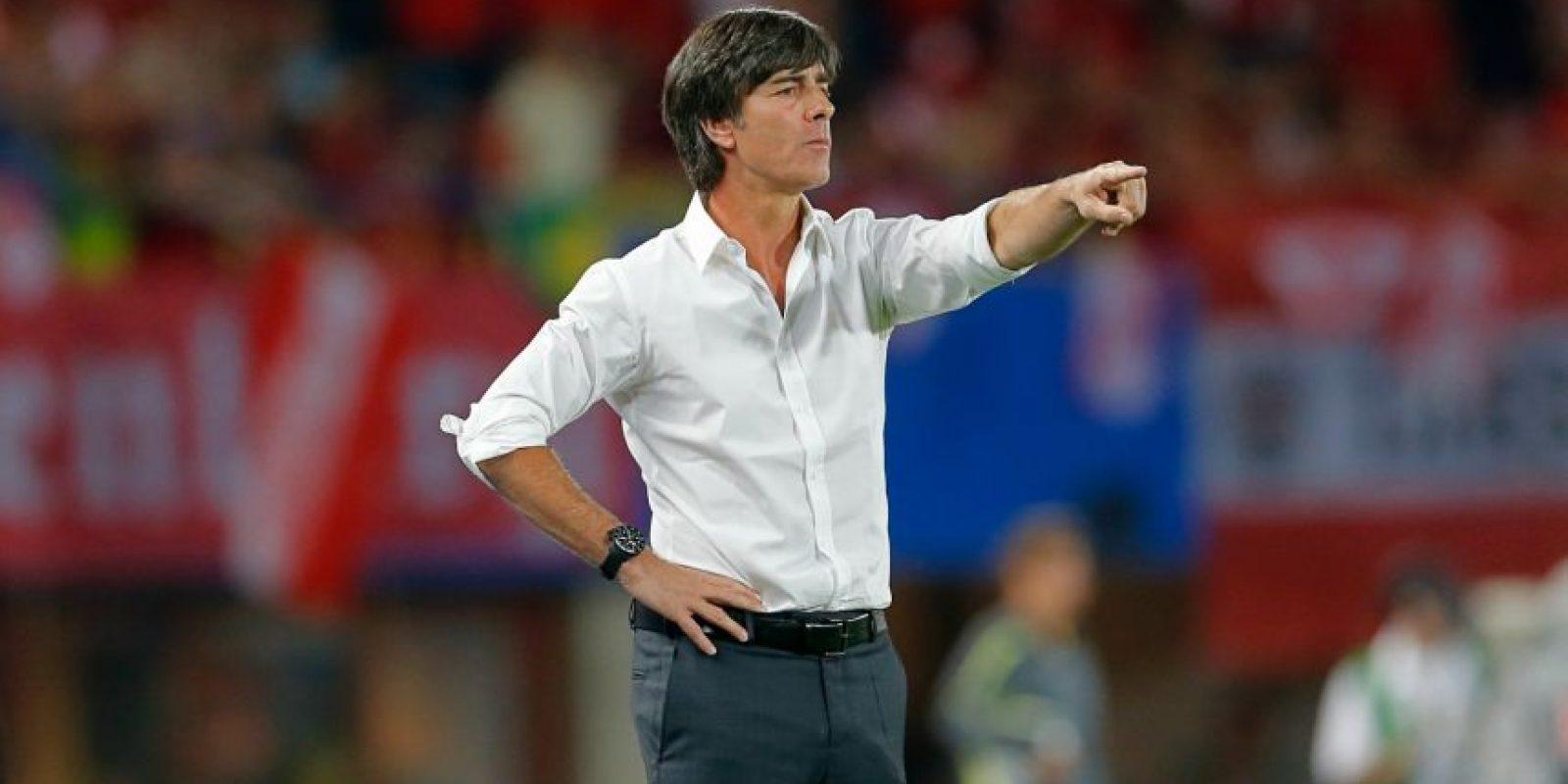 Ganó la Copa del Mundo al frente de la Selección de Alemania. Foto:AFP