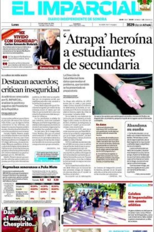 México, El Imparcial Foto:El Imparcial